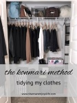 Graphic. konmari clothes