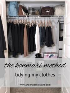 Graphic. konmari clothes