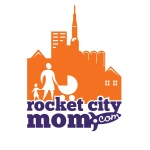 Logo. Rocket City Mom