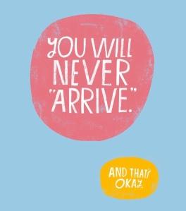 Never Arrive. Lisa Cogdon
